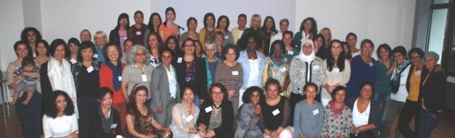 DaMigra-Gruppenbild der TeilnehmerInnen in Köln